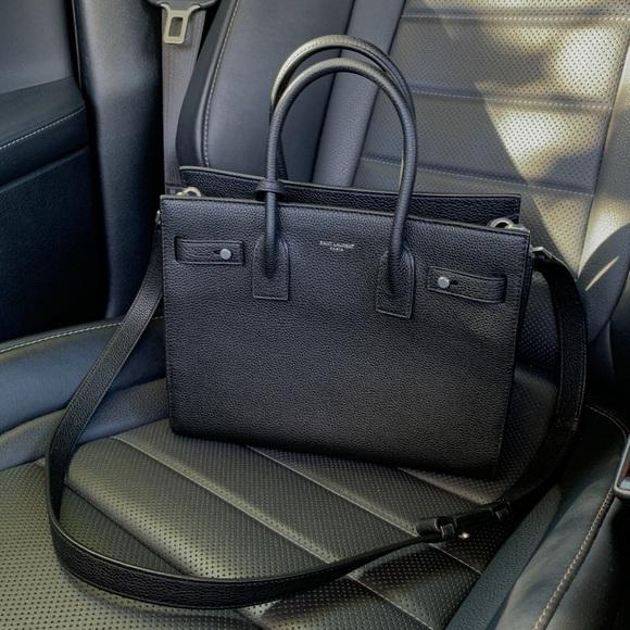 1ddd0168a9 Saint Laurent Bags | Ysl Baby Sac De Jour Souple Supple Bag Black ...